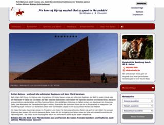 reit-safari.de screenshot