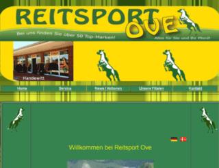 reitsport-ove.de screenshot