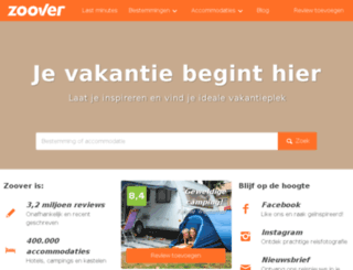 reizen.zoover.nl screenshot