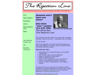 rejectionline.com screenshot
