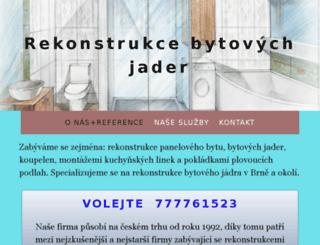 rekonstrukce-bytoveho-jadra.com screenshot