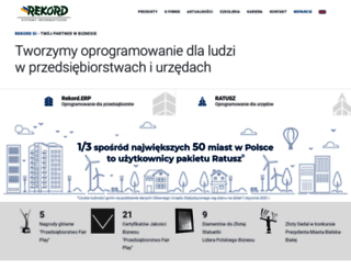 rekord.com.pl screenshot