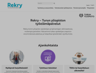 rekryturku.fi screenshot