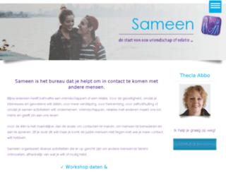 relatiebureausameen.nl screenshot
