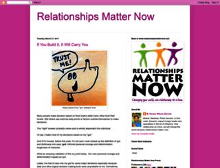 relationshipsmatternow.blogspot.com.br screenshot