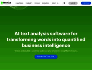 relativeinsight.com screenshot