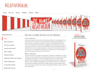 relativeren.nl screenshot