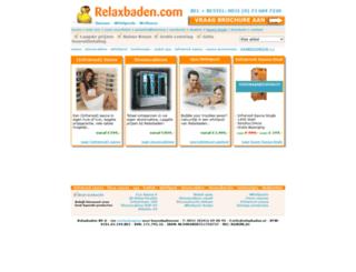 relaxbaden.nl screenshot