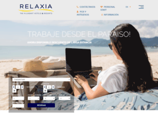 relaxia.net screenshot