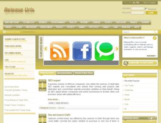 releaseurls.com screenshot