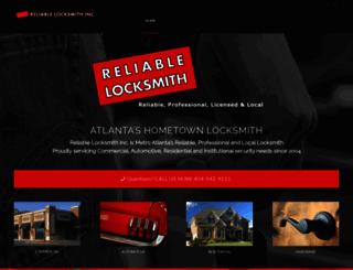 reliablelocksmith.com screenshot