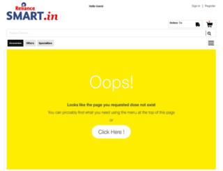 reliancefreshdirect.com screenshot