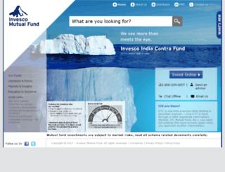 religareinvesco.com screenshot