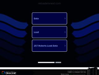 reloadersnest.com screenshot