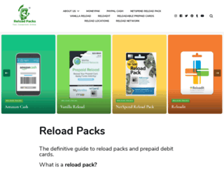 reloadpacks.com screenshot