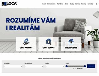 reloca.cz screenshot