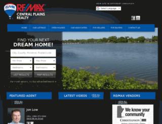 remax-centralplainsrealty.ca screenshot