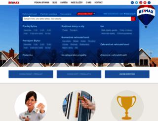 remax-slovakia.sk screenshot