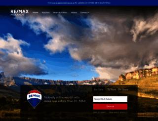 remaxmidlands.co.za screenshot