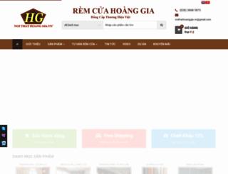 remcuahoanggia.com screenshot