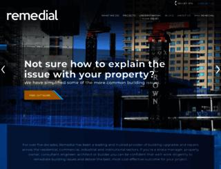 remedial.com.au screenshot