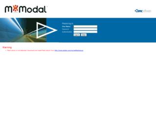 remedy.mmodal.com screenshot