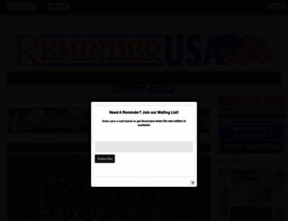 reminderusa.net screenshot