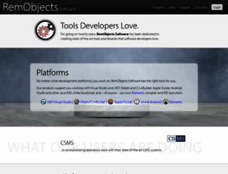 remobjects.com screenshot