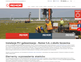remor.pl screenshot
