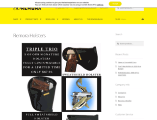 remoraholsterstore.com screenshot