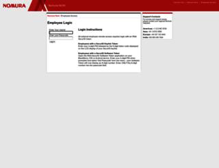 remote.nomura.com screenshot