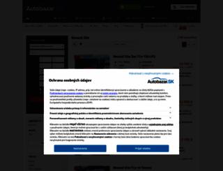 renault-clio.autobazar.sk screenshot