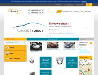 renaultdily.cz screenshot