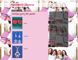 rendelhetoekszerek.blogspot.hu screenshot