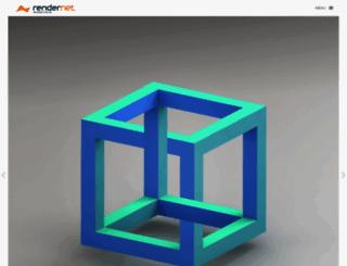 rendernet.hu screenshot