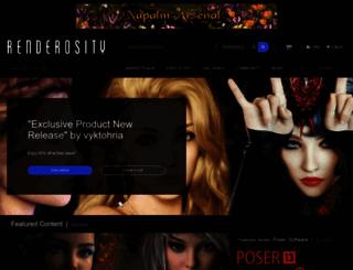 renderosity.com screenshot
