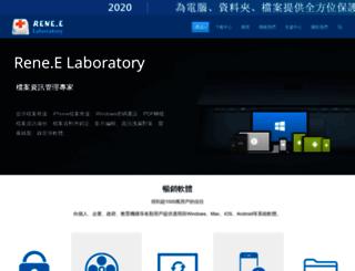 reneelab.net screenshot