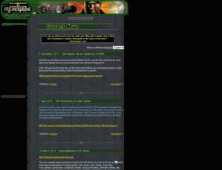 renegadecommunity.com screenshot