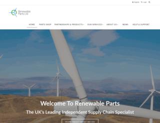 renewable-parts.com screenshot