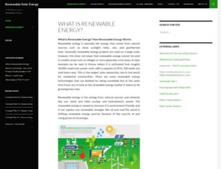 renewable-solarenergy.com screenshot