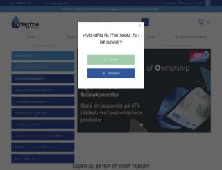 rengros.dk screenshot