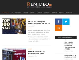 renideo.fr screenshot