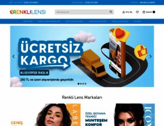 renklilens.com screenshot