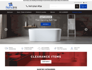renolink.com.au screenshot