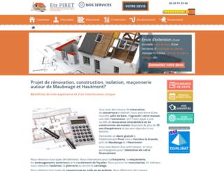 renovation-construction-nord.fr screenshot
