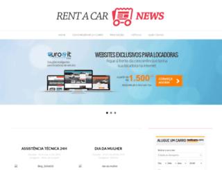 rentacarnews.com.br screenshot