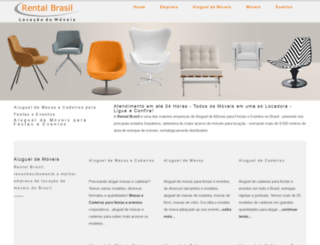 rentalbrasil.com.br screenshot