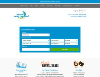 rentalcar.co.nz screenshot