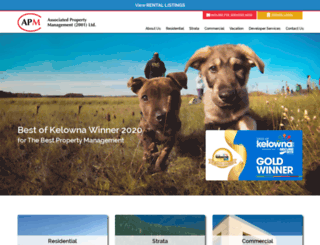 rentalsinkelowna.com screenshot
