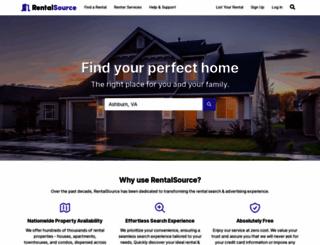 rentalsource.com screenshot